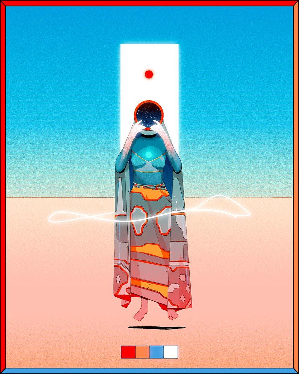 The Healer IV✨ #digitalartist #illustrator