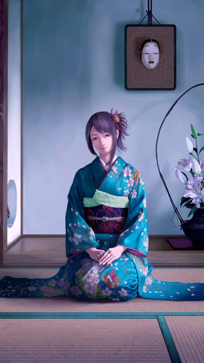 Iphone壁紙 アニメ女子は彼女夫iphone 8 Plus壁紙を待っています T Co E8dwq6jspy 女の子 アニメ 壁紙 Anime