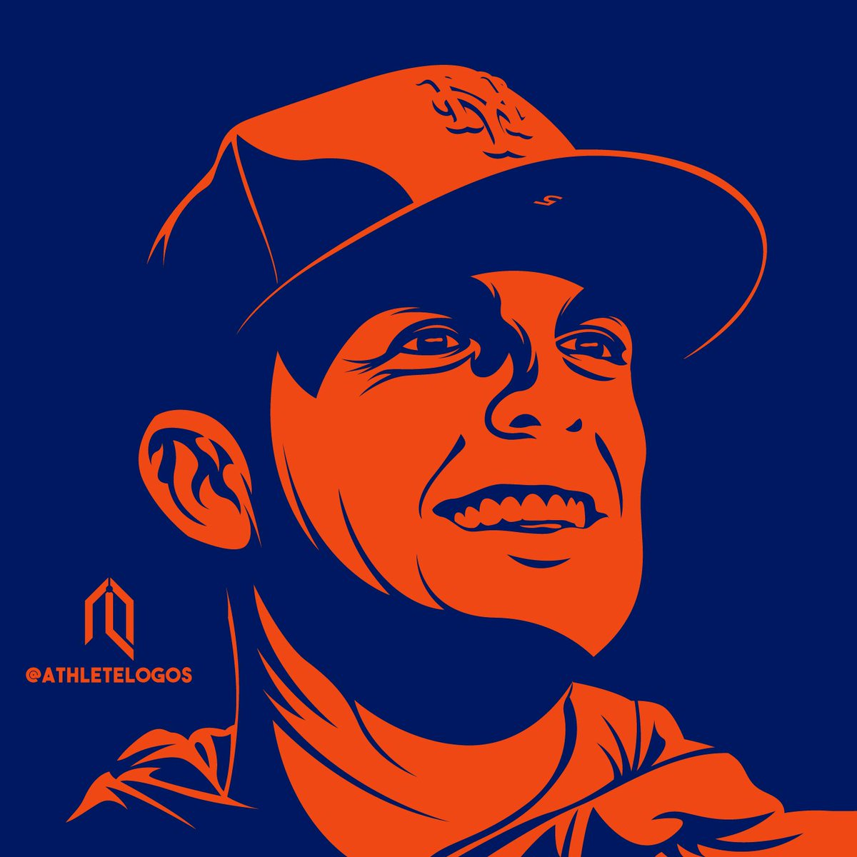 One color portrait of The Captain. @Mets #LGM  #Mets #DavidWright @spidadmitchell @dylanobrien<br>http://pic.twitter.com/bECZyhaszq