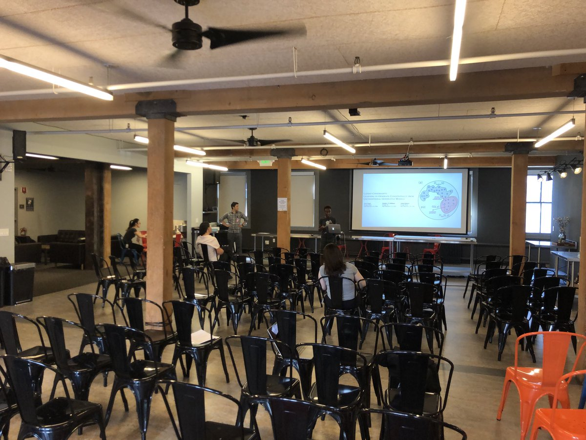 Practice run for OpenAI Scholars Demo Day tonight. See you there!