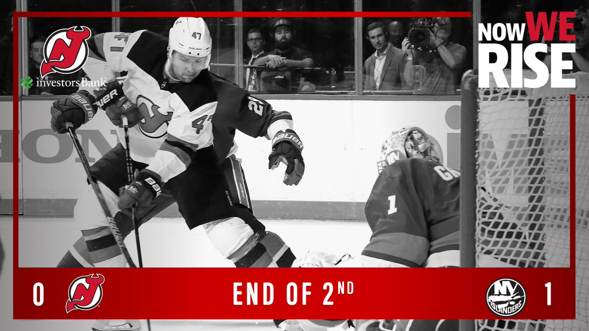 Forty minutes in the books. @jaquinder88 leads the #NJDevils with four of our 24 SOG. #NJDvsNYI