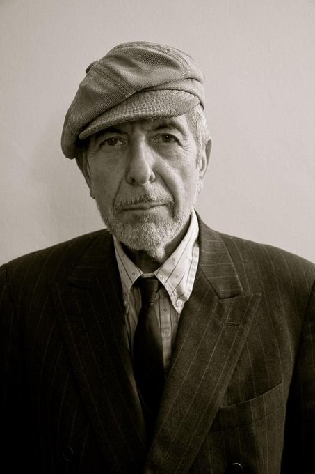 Happy Birthday to Leonard Cohen (September 21, 1934 - November 7, 2016)