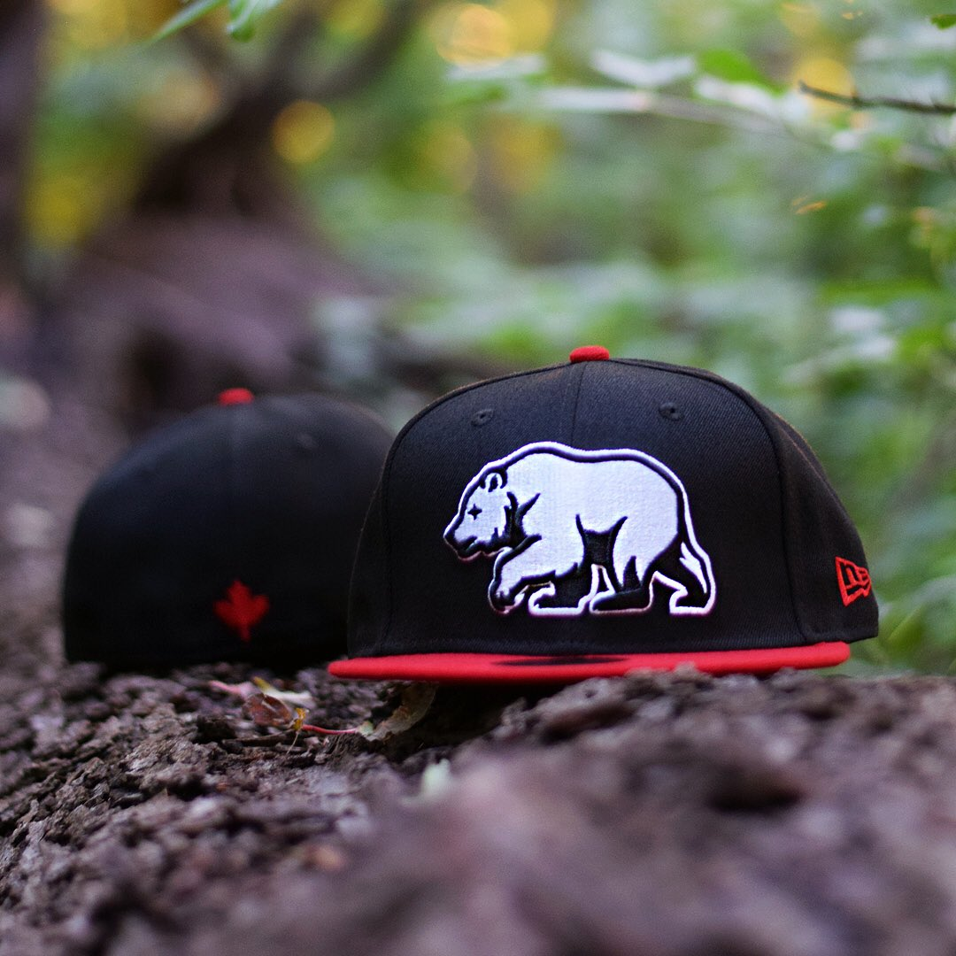 bdc6b56e8be Bear Explorer 59Fifty now available online! Limited quantities available.   NobleNorth  NewEraCap  NewEraFitted  59Fifty  GrizzlyBear . ...