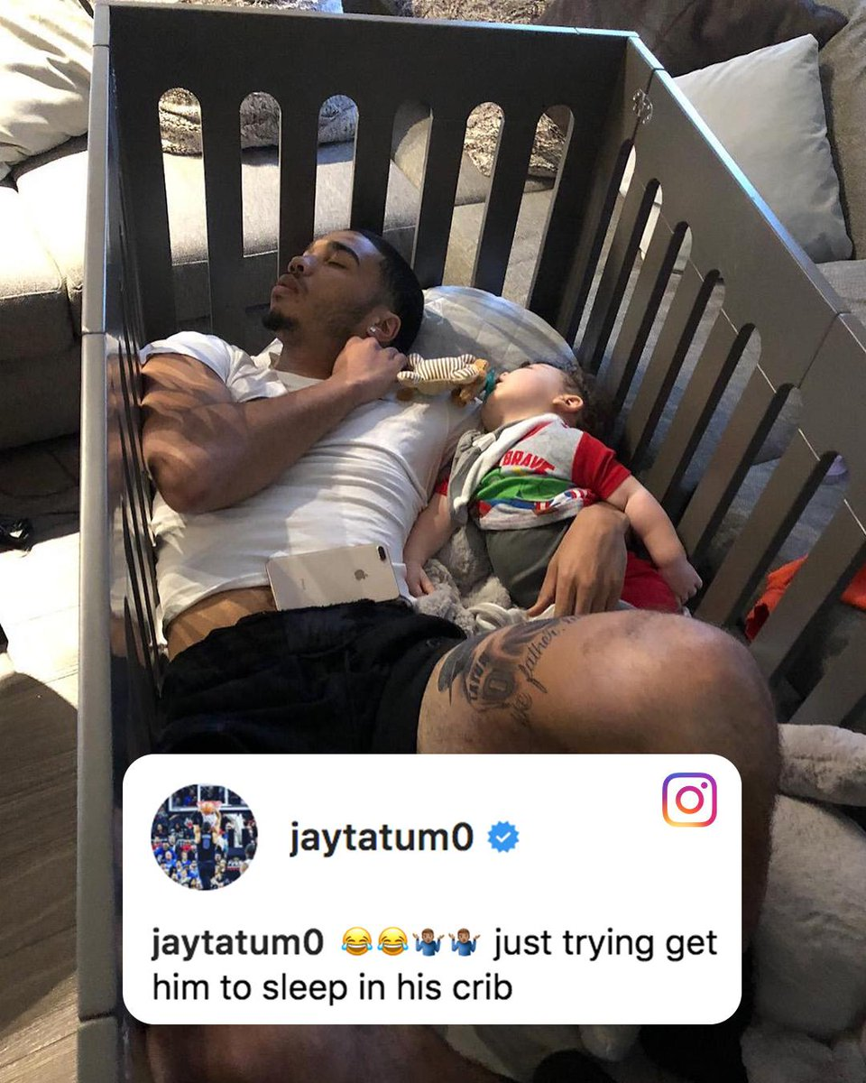 Check out @jaytatum0's new crib 😂
