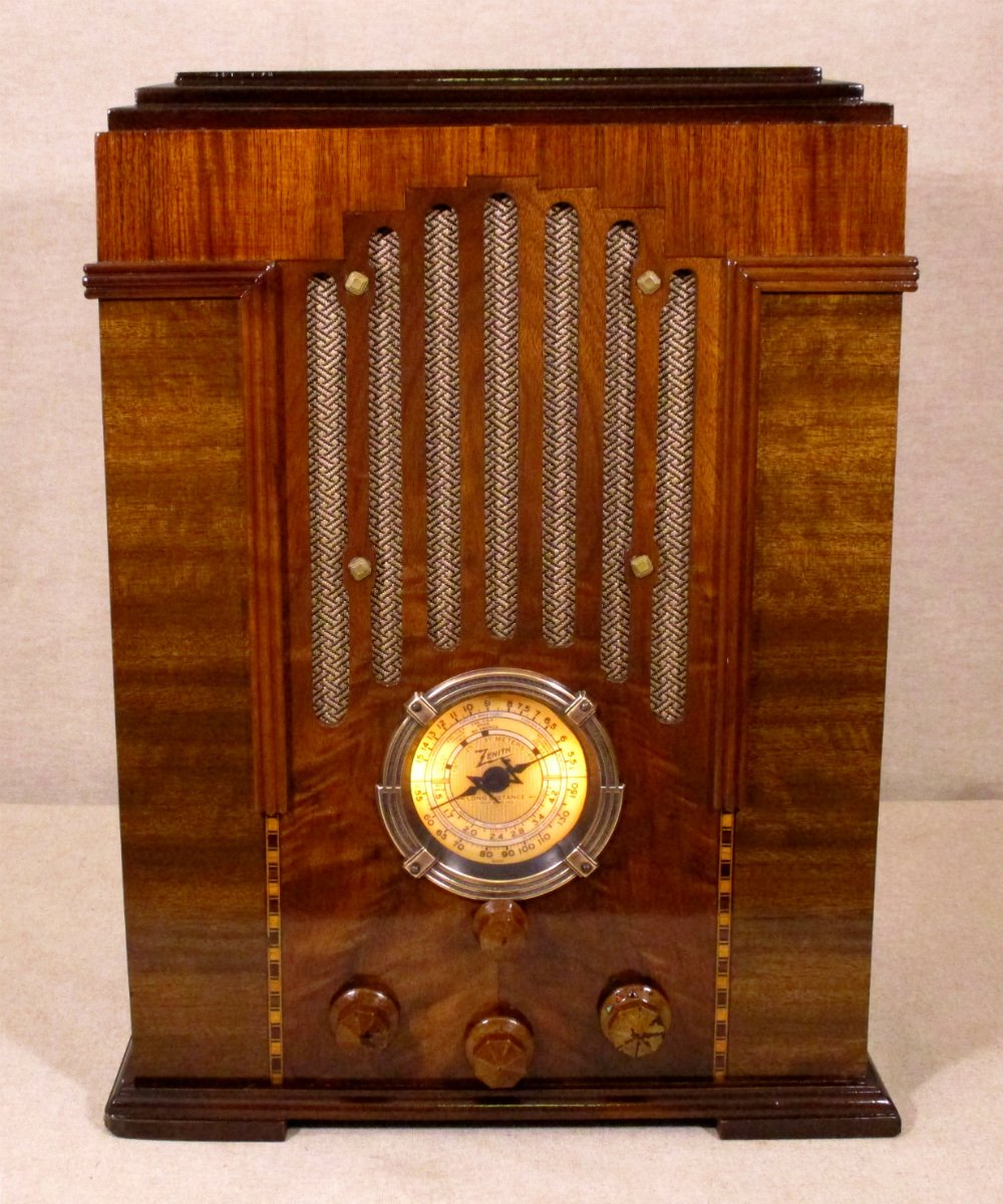 Andy Antique Radios On Twitter We Just Listed This Restored 1934 Zenith Tube Radio On Ebay It Is One Of The First Tombstone Style Radios Zenith Produced Here S The Link To The