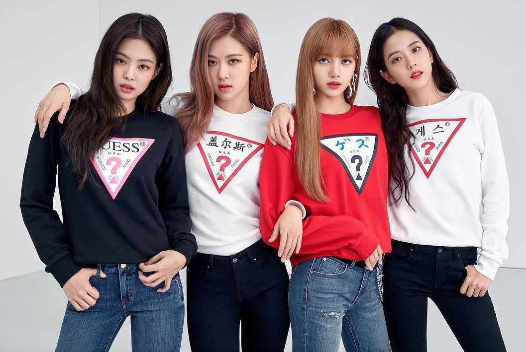 #BLACKPINK for #GUESS   See more: https://t.co/eyG8DYFfOn   �������� Source: https://t.co/uEYYg3jVMM https://t.co/gLbMRVmG53
