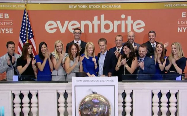 [INSIDERS] #Eventbrite voit son action grimper de près de 60% pour son entrée en #Bourse https://t.co/daz50SIGBI #Tech