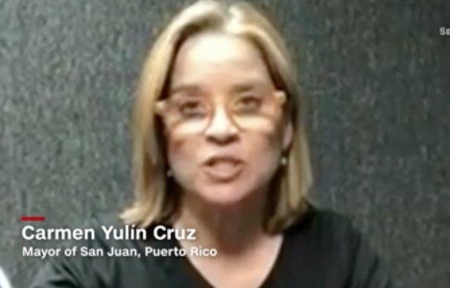 San Juan Mayor @CarmenYulinCruz: Hurricane Maria is Trump's Katrina cnn.it/2xtCjYl