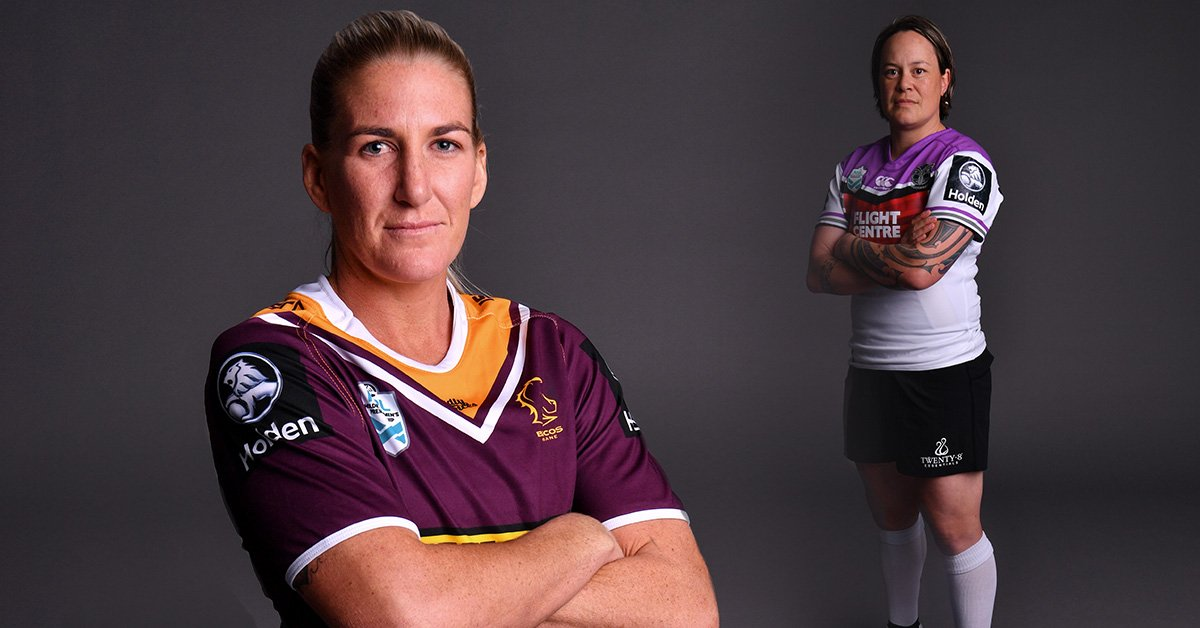 Who's ready for game day?! #NRLWWarriorsBroncos #OurWay #Bronxnation @WRugbyLeague
