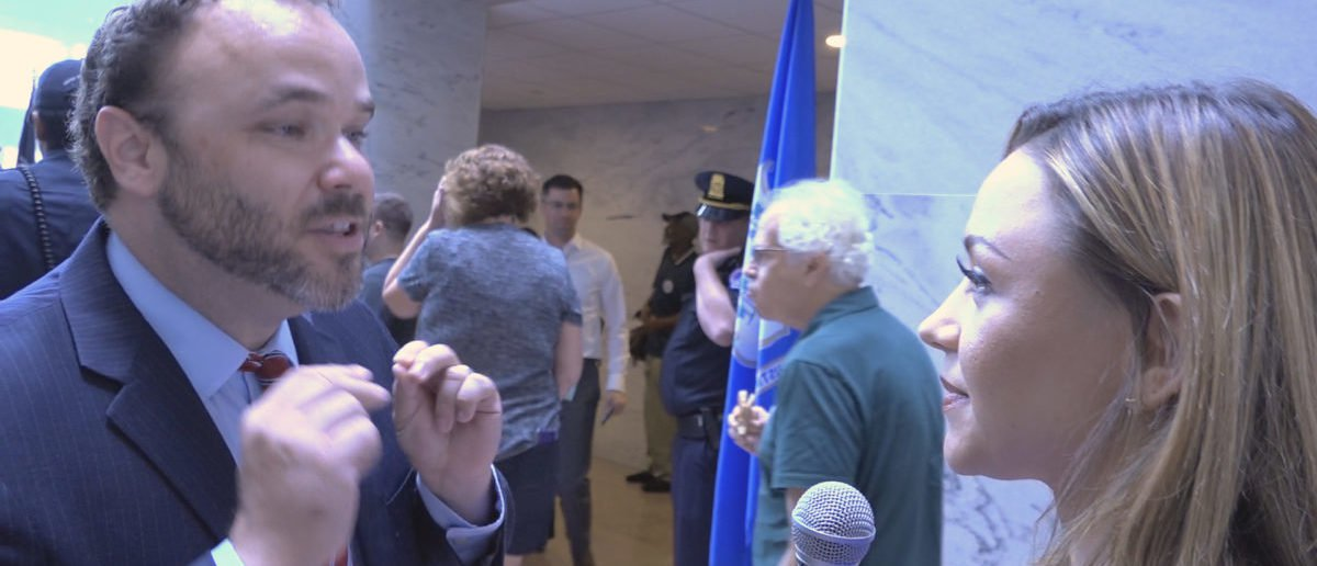 [VIDEO] Kavanaugh Protesters Refuse To Denounce Alleged Domestic Abuser Rep. Keith Ellison https://t.co/xfVdnoEJ7q https://t.co/J3bsivXi20