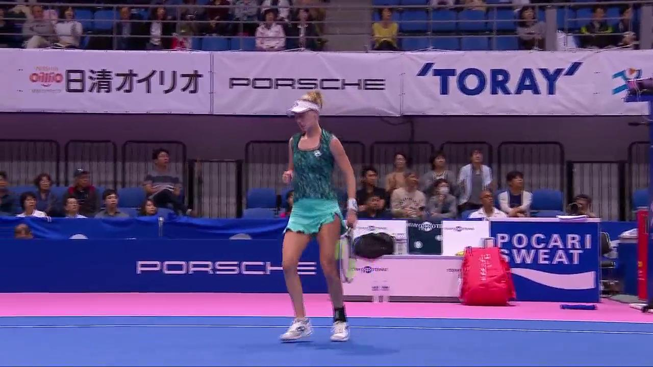 .@Riske4rewards moves seamlessly from defense to offense on this point!    @torayppo #東レppoテニス https://t.co/HjoGKv5ezT