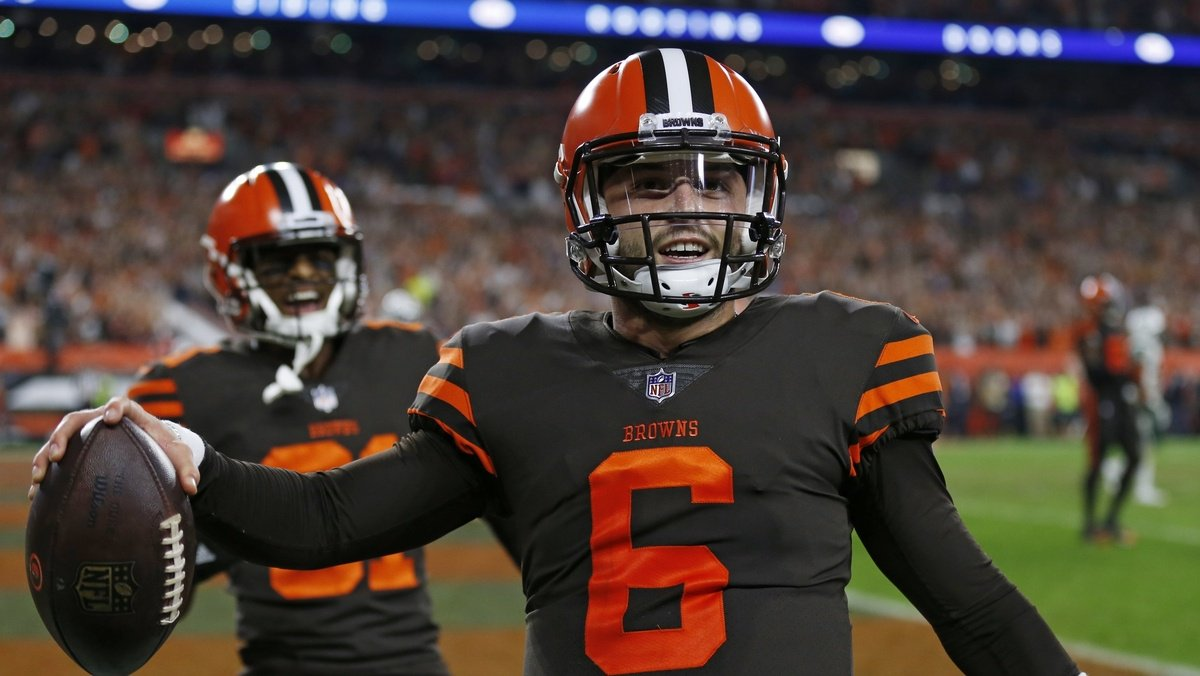 Won, won and won! Browns beat Jets for first win since 2016 http://dlvr.it/QktTVT