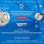 23 octobre : 7es Rencontres du G5 Santé https://t.co/demMjpeAW2 @G5Sante