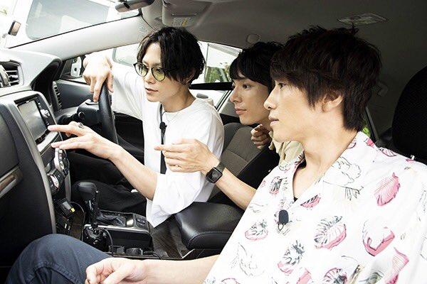 【第1回は10/26放送】同い年3人のドライブでは、玉城さんが運転席に座る場面も 玉城さんも和田さん