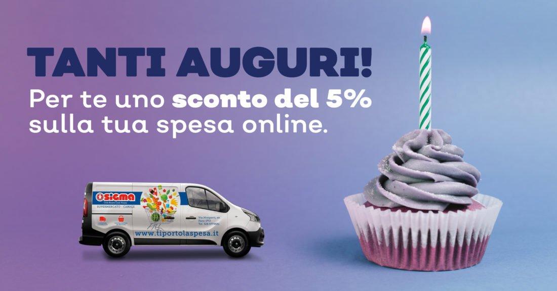 Coupon del 5% per il tuo compleanno #Promozioni #Fano - https://is.gd/6y5msf  - Ukustom