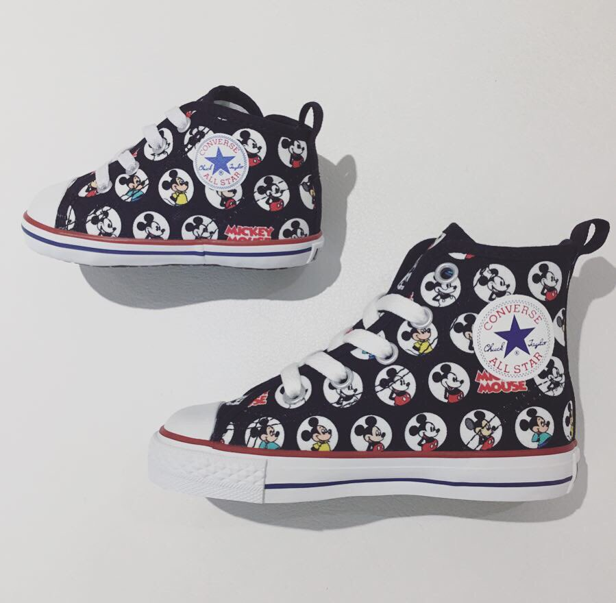 8ee3d299a27552 ... MICKEY MOUSE HM Z HI BABY ALL STAR N MICKEY MOUSE V-1 (画像2)   WhiteatelierBYCONVERSE  CONVERSE  コンバース  ALLSTAR  chucktaylor  sneakers   harajuku ...