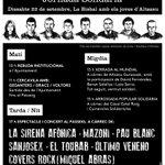 Image for the Tweet beginning: Sota la crida de 'Llibertat