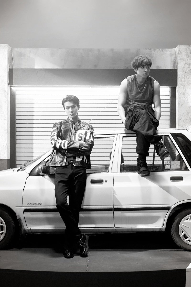 [FOTO] #Sehun e #Chanyeol dall\