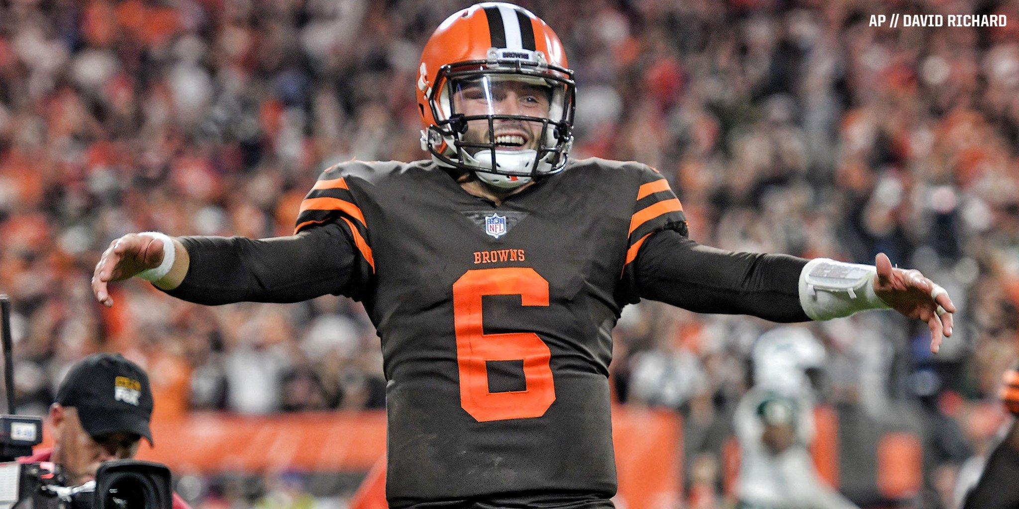 Baker Mayfield rallies Browns to 1st win since 2016  Game Recap » https://t.co/FQAdCqa3u6 https://t.co/qxaLvSBdL3