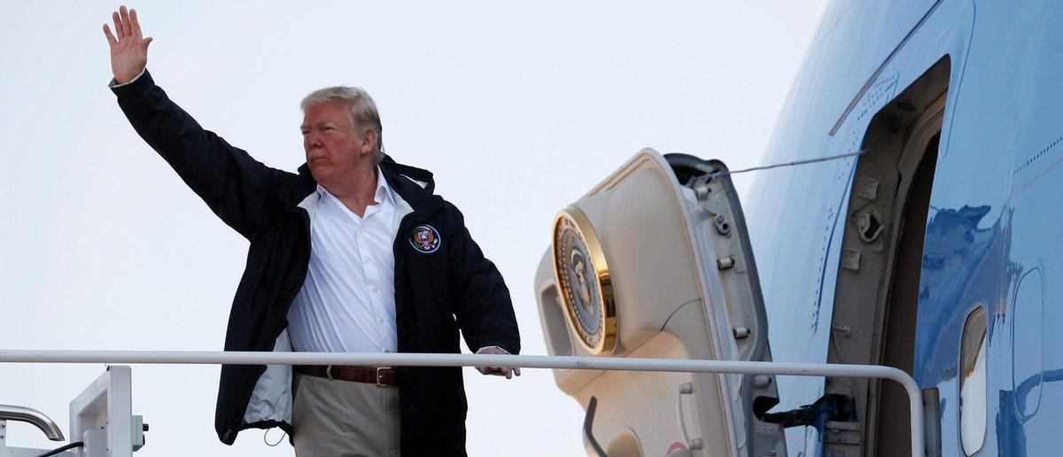 Trump Visits Residents And Troops In States Ravaged By Hurricane Florence https://t.co/GRnYXOe0gw