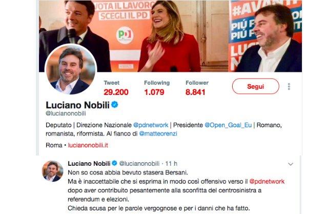 """La """"nobiltà"""" del chiedere scusahttps://bit.ly/2OHamTEIl #buongiorno di @giuliocavalli #PartitoDemocratico #MatteoRenzi #LucianoNobili  - Ukustom"""
