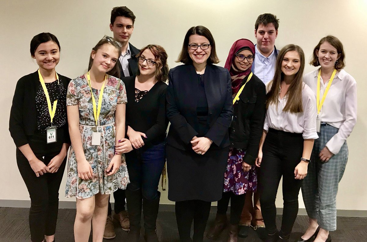 These young people are going places! Thank you to every member of our first ever Victorian Youth Congress for your dedication and passion in being a voice for all young Victorians. We could not have had a more impressive group to start this program #springst
