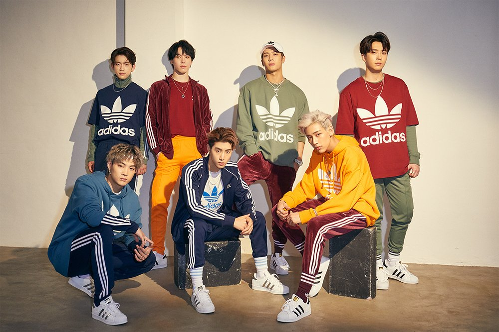 GOT7 chosen as the new models to 'Adidas Originals' https://t.co/xQGuhxzQJ7