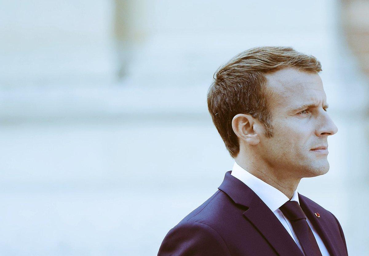 """Mein Lieblingssatz beim #SalzburgSummit stammt von @EmmanuelMacron: """"Ich kommentiere keine Spekulationen. Ich hab schon mit der Realität genug zu tun."""""""