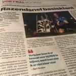 In #ADUN: Razendsnel basiskrant. Linksback Bart Bruijne verovert al vlug de harten @svlomni