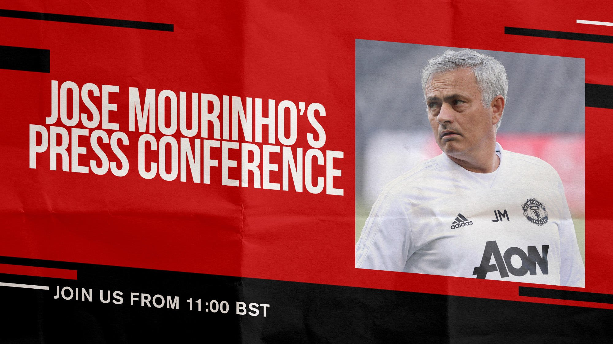 Jose will preview Saturday's Old Trafford clash with Wolves later today... #MUFC https://t.co/AKfcSL5zyq