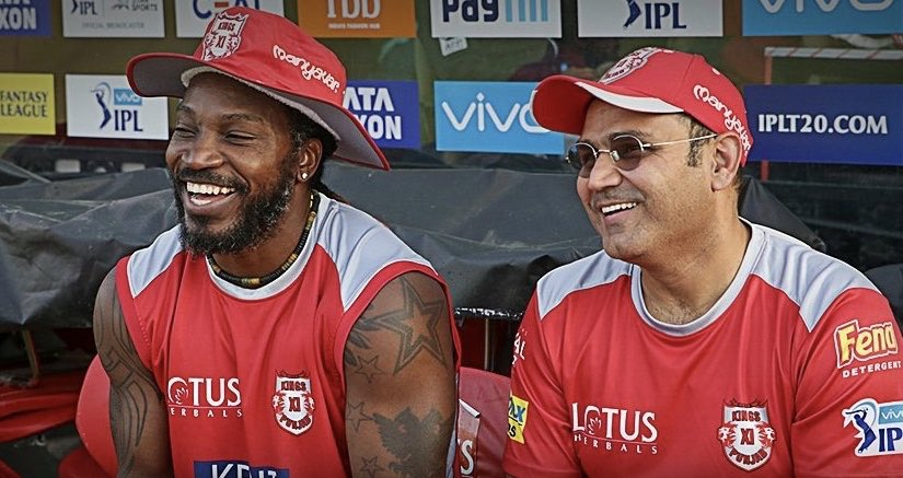 Happy Birthday @henrygayle . May you keep hitting them where the bat is pointing. A man with a big heart, wish you a great year ahead Gayle !