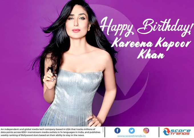 Score Trends wishes Kareena Kapoor Khan a Happy Birthday!