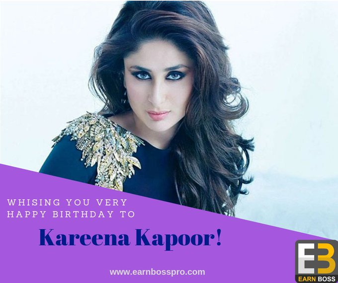 Wishing to Gorgeous Kareena Kapoor Very Happy Birthday