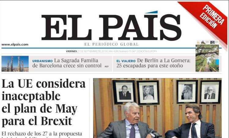 If only I spoke Spanish I'd be able to figure out this headline.  #BrexitShambles