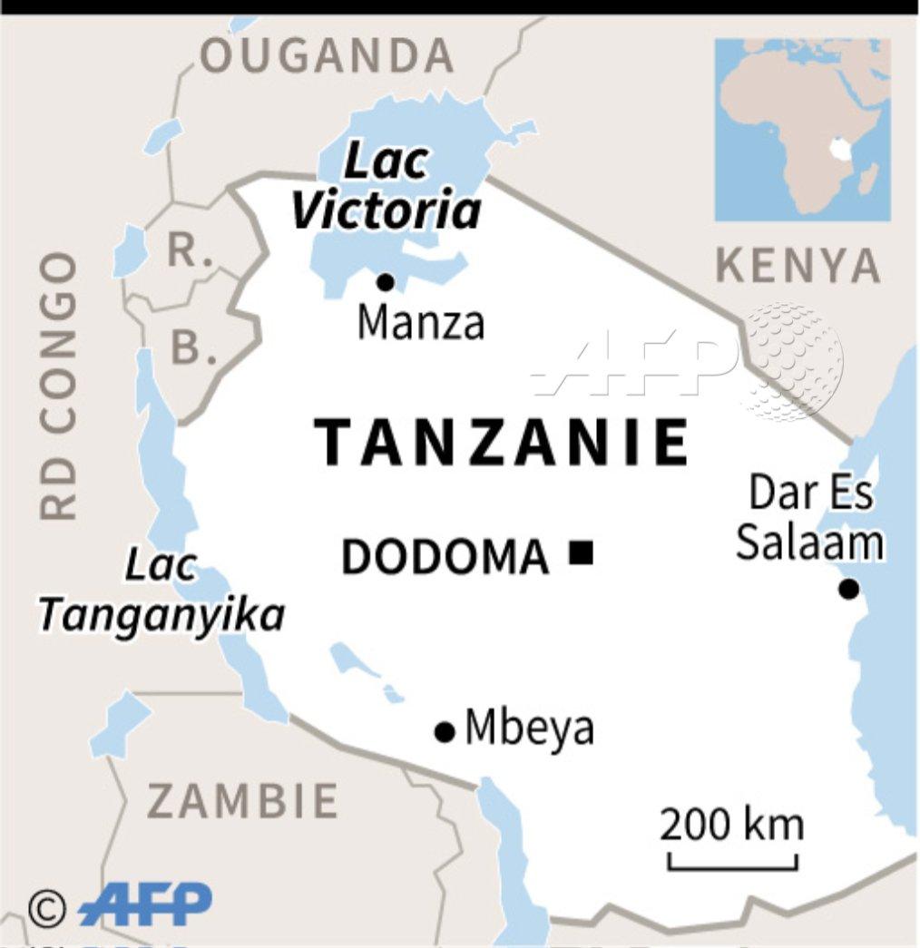 Tanzanie : au moins 79 morts dans le naufrage d'un ferry sur le lac Victoria http://u.afp.com/ou5V #AFP