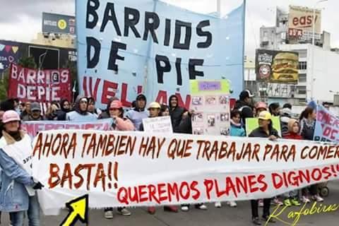 A PEDIR PLANES A SUS GOBIERNOS :ARGENTINA TIENE QUE SOBREVIVIR EN UN ESTADO DE EMERGENCIA . Foto
