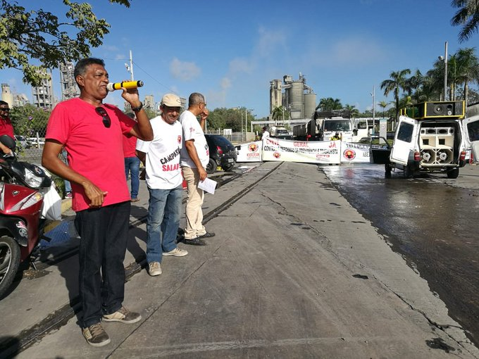 Unions demand social dialogue and fair negotiations at Votorantim Cement in Brazil and Argentina Foto