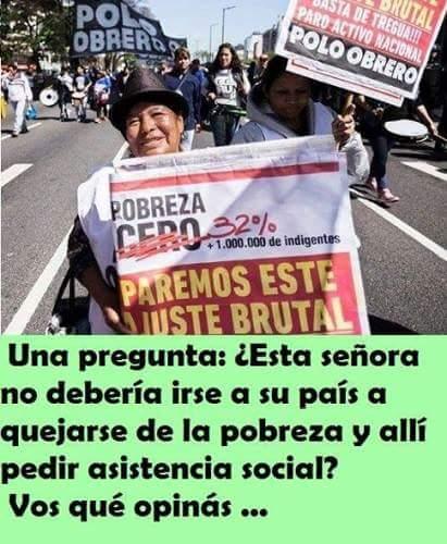 A PEDIR A SUS GOBIERNOS, ARGENTINA ESTÁ EN EMERGENCIA PARA ATENDER A SU PUEBLO! Foto