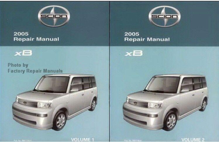 2005 scion tc repair manual