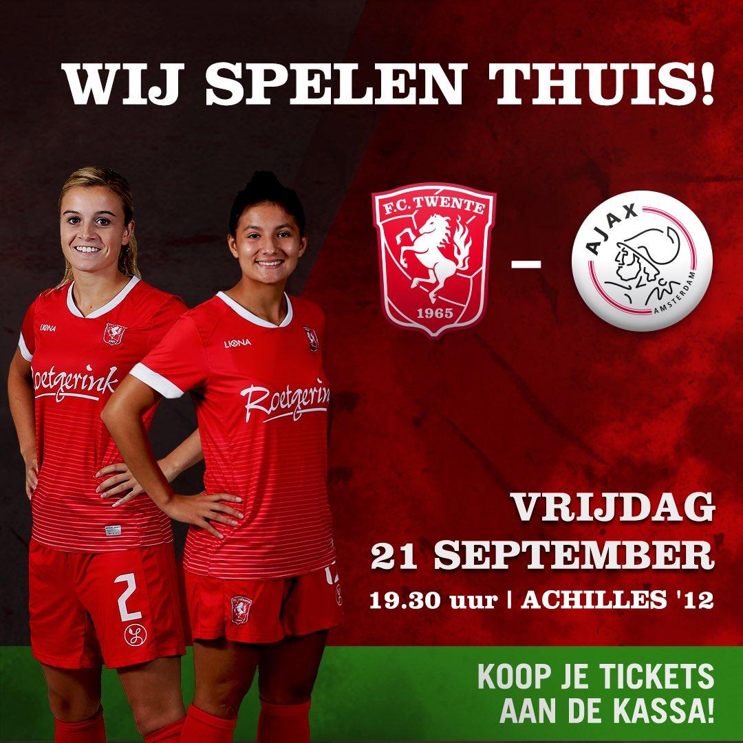 test Twitter Media - 🔥MATCHDAY🔥 .  🆚 Ajax Vrouwen 🕢 19:30 📍 Sportpark 't Wilbert . . . . #fctwentevrouwen #tweajax #matchday https://t.co/yl0j1afP3N