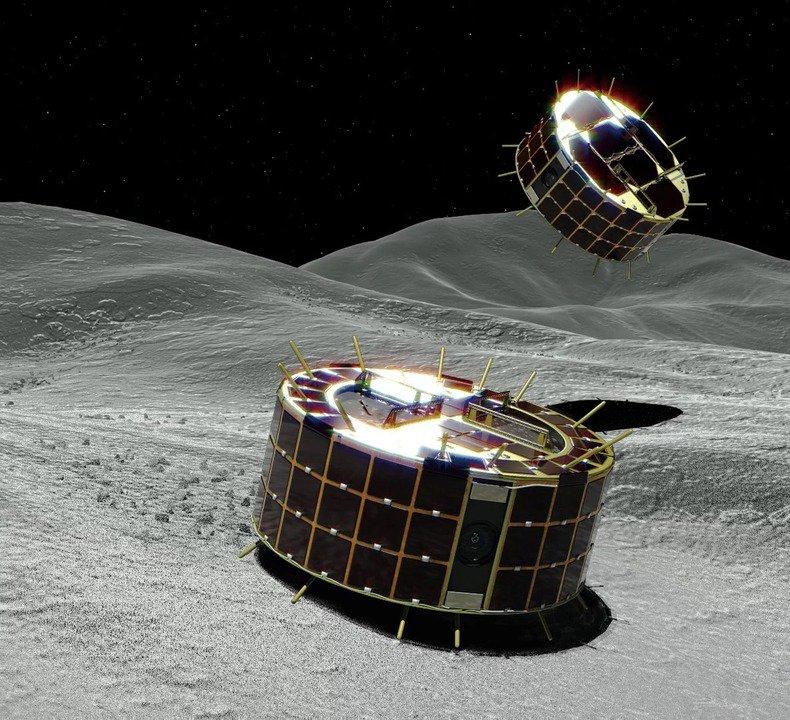 はやぶさ2が小惑星リュウグウに2つのローバーを投下。成功なるか? #サイエンス #宇宙 #テクノロジー https://t.co/00u9H62lNn