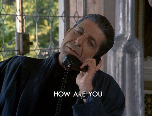 Happy birthday to Miami Vice supervillain Leonard Cohen