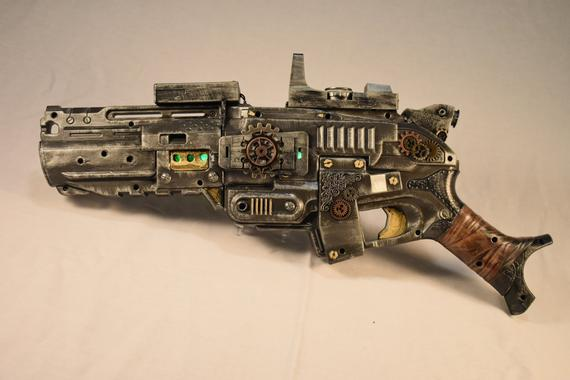 #steampunk https://t.co/NoHQvbPF1Q Sci Fi SteamPunk Ion-Blaster by PandorasSyFyPropBox