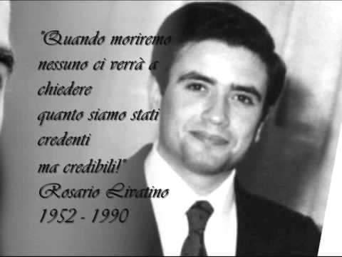 Il #21settembre 1990 veniva assassinato dalla #mafia un grande uomo: #RosarioLivatino. #pernondimenticare e onorare la sua memoria #perunmondomigliore.  - Ukustom
