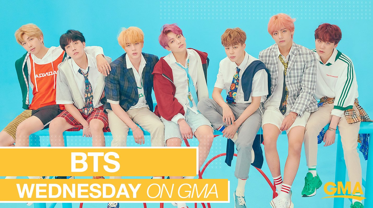 HELLO.  닷새 until #BTSonGMA.  kthanks. @BTS_twt https://t.co/KrwL6aDXcO