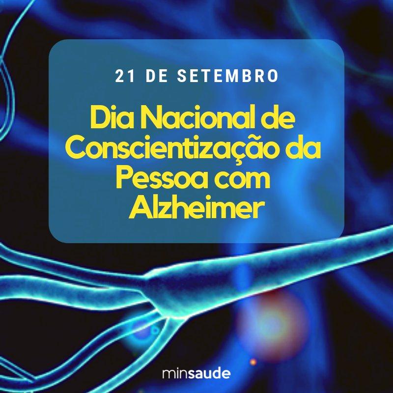 Hoje é comemorado o Dia Mundial de Conscientização sobre a Doença  Alzheimer  https://t.co/iufqZ2cGqh  #AlzheimersDay   #Alzheimer