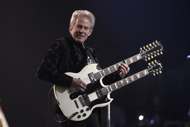 I wonder if he gets 2 cakes on his birthday?  Wishing a very happy 71st birthday to Eagles guitarist Don Felder!