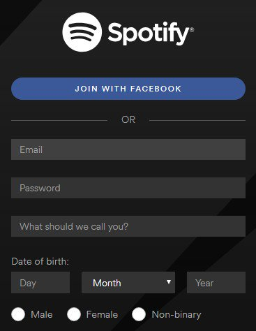 what can i do to earn money from home spotify has non binary option