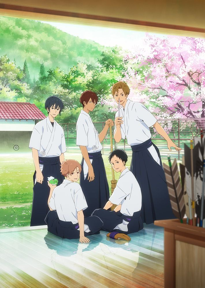 Image result for tsurune kazemai high school's archery club