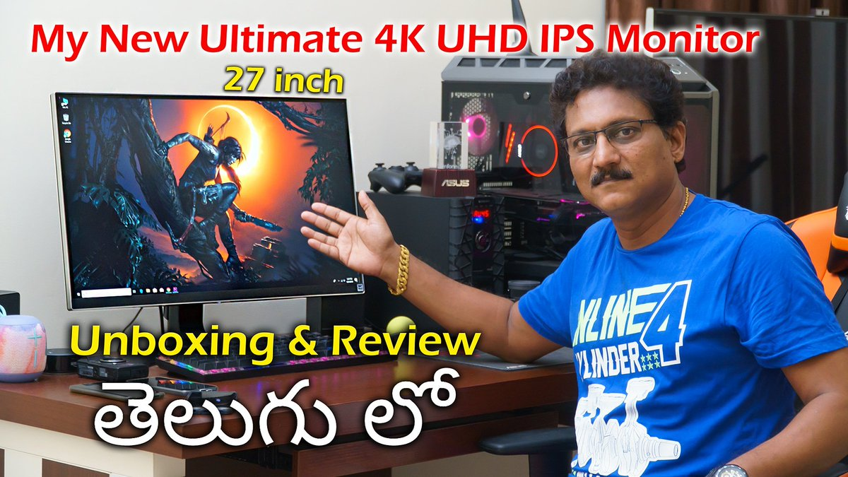 acd60e2d9185  best 27 inch  4k  uhd  ips  computer  monitor  unboxing    review in   telugu watch the  video on my  youtube  channel Link in Bio.pic.twitter.com   ...